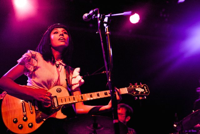 Jessica Hernandez and The Deltas Bring Their Funk To Hipster Brooklyn