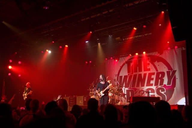 The Winery Dogs Perform at the Playstation Theater
