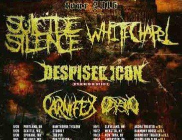 Whitechapel Confirm Final Round of Tour Dates w/ Suicide Silence