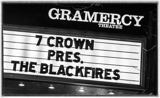 "7 Crown Presents The Blackfires ""Rock Beast"" CD Release"