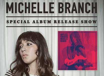 Michelle Branch Album Release Show at Webster Hall 4/7